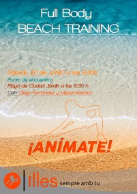 Beach training20_6_15