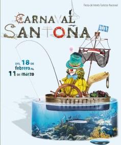 Diseño Cartel Carnaval Santoña