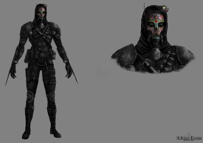 Concept Art Assassin Jet Assault