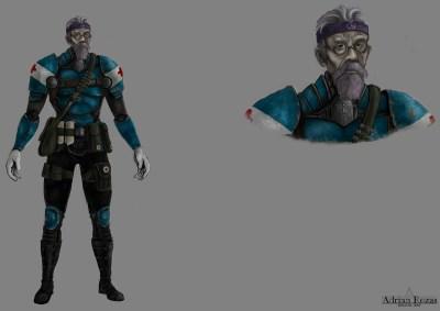 Concept Art Doctor Jet Assault
