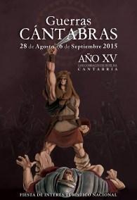 Ilustración Cartel Guerras Cántabras