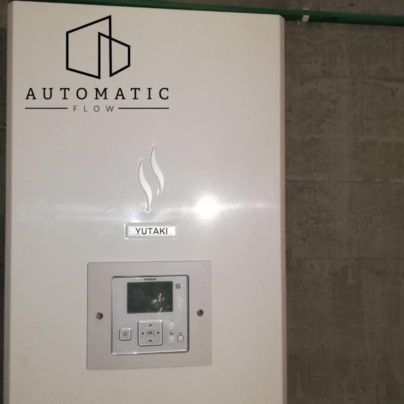 Montaj pompa de caldura Hitachi Yutaki S la Cluj