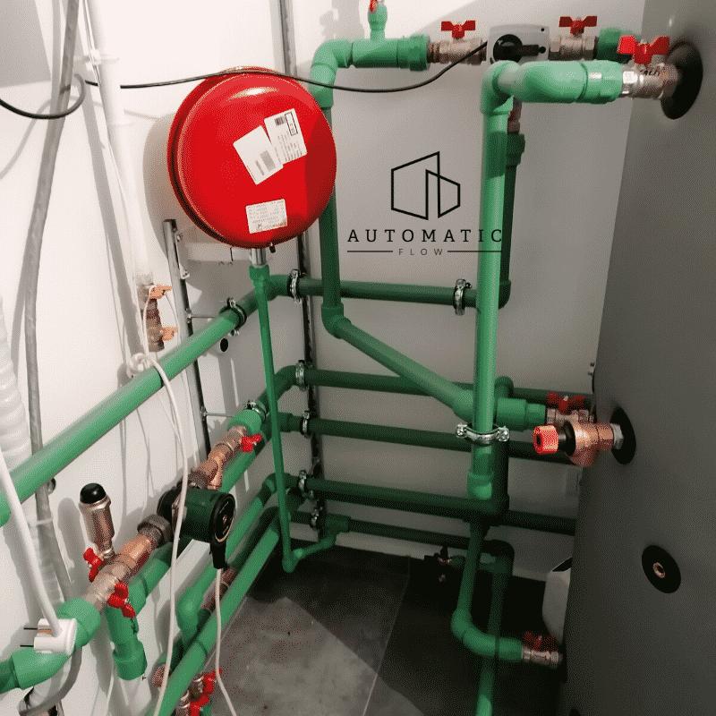 montaj pompa de caldura