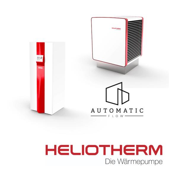 Pompa de caldura HELIOTHERM Basic Comfort Series HP12L-M-BC-80