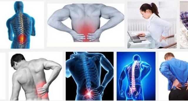 dureri în zona lombară