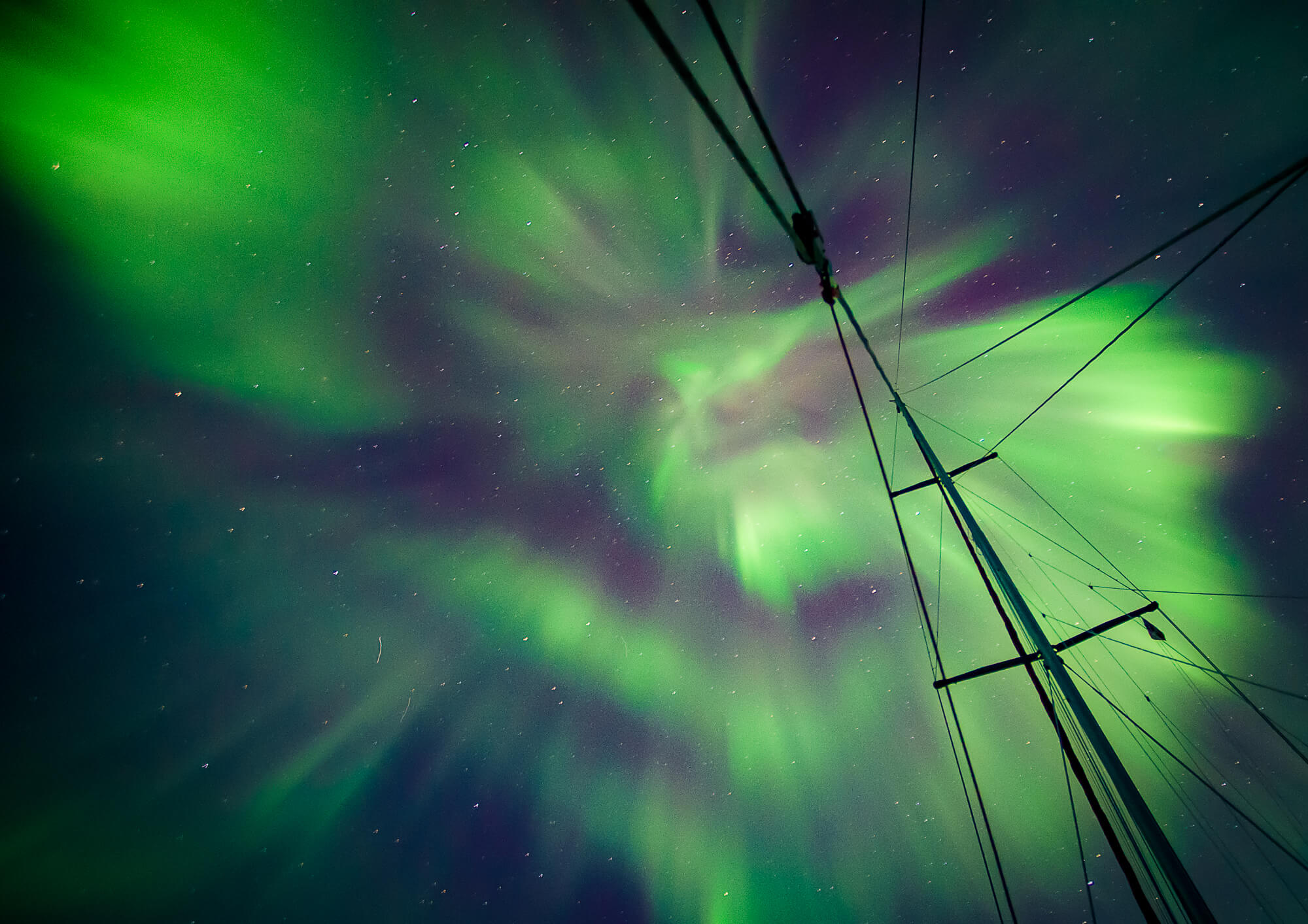 East Greenland Aurora Northern Lights