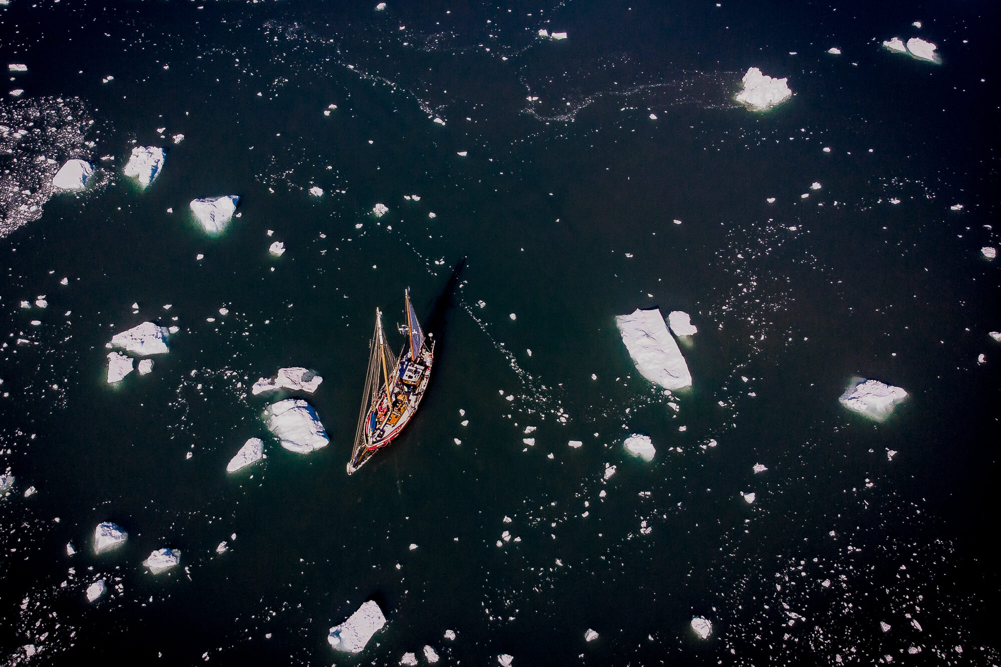 East Greenland Arktika Among The Icebergs