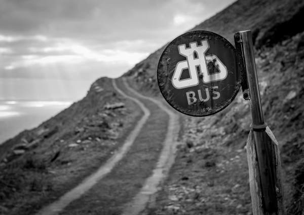 Bus Stop Dursey Island West Cork