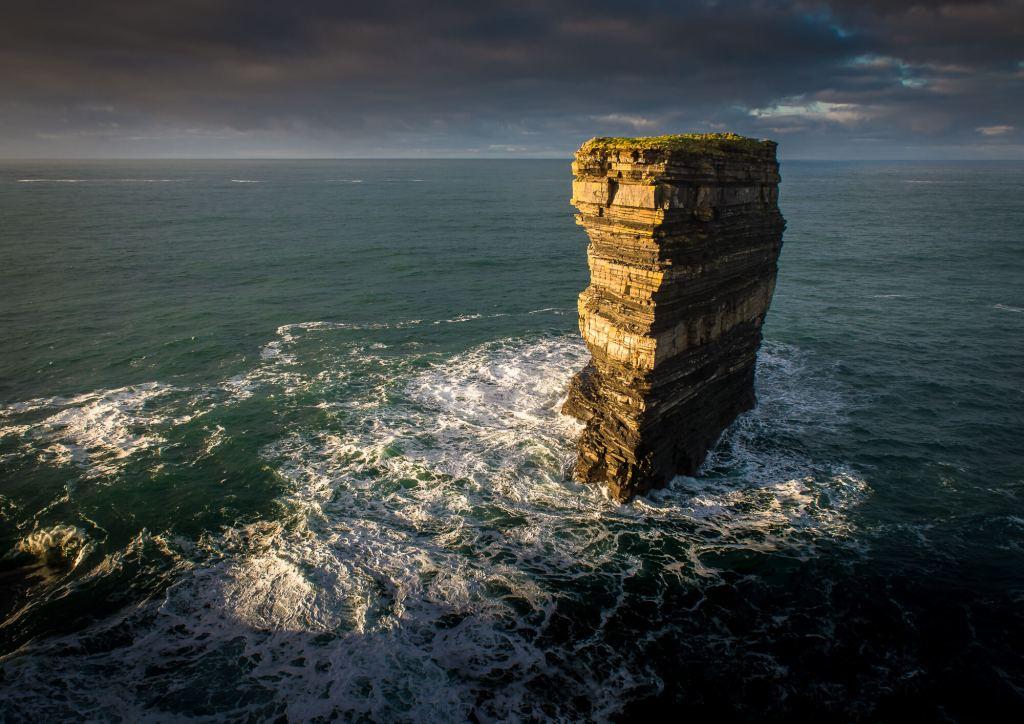 Dún Briste Sea Stack Downpatrick Head, Mayo