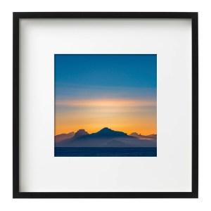 Sunset near Pyramiden, Svalbard Photos