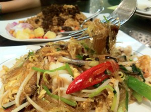 Thai Seafood Fried Vermicelli