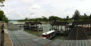 Changi Ferry Terminal to Pulau Ubin
