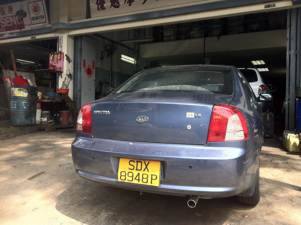 Selling a 10 Year Old Scrap Car in Singapore | Adrian Video Image