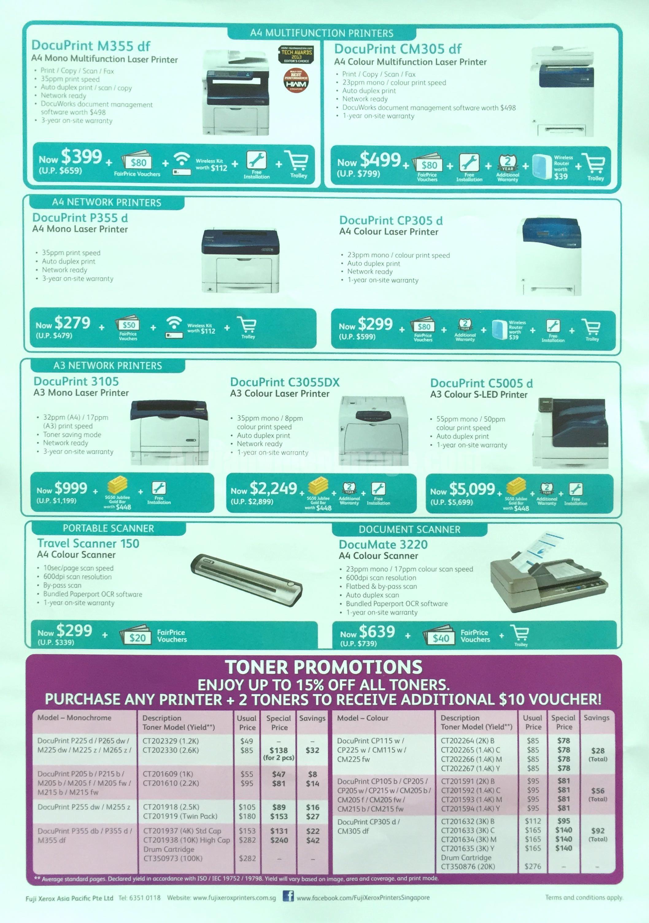 Fuji Xerox @ SITEX 2015 - Printers