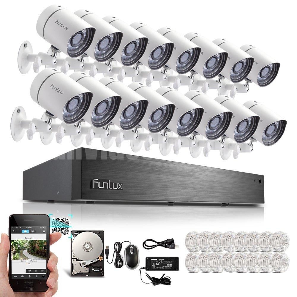 Funlux® 16 Channel PoE NVR Security System
