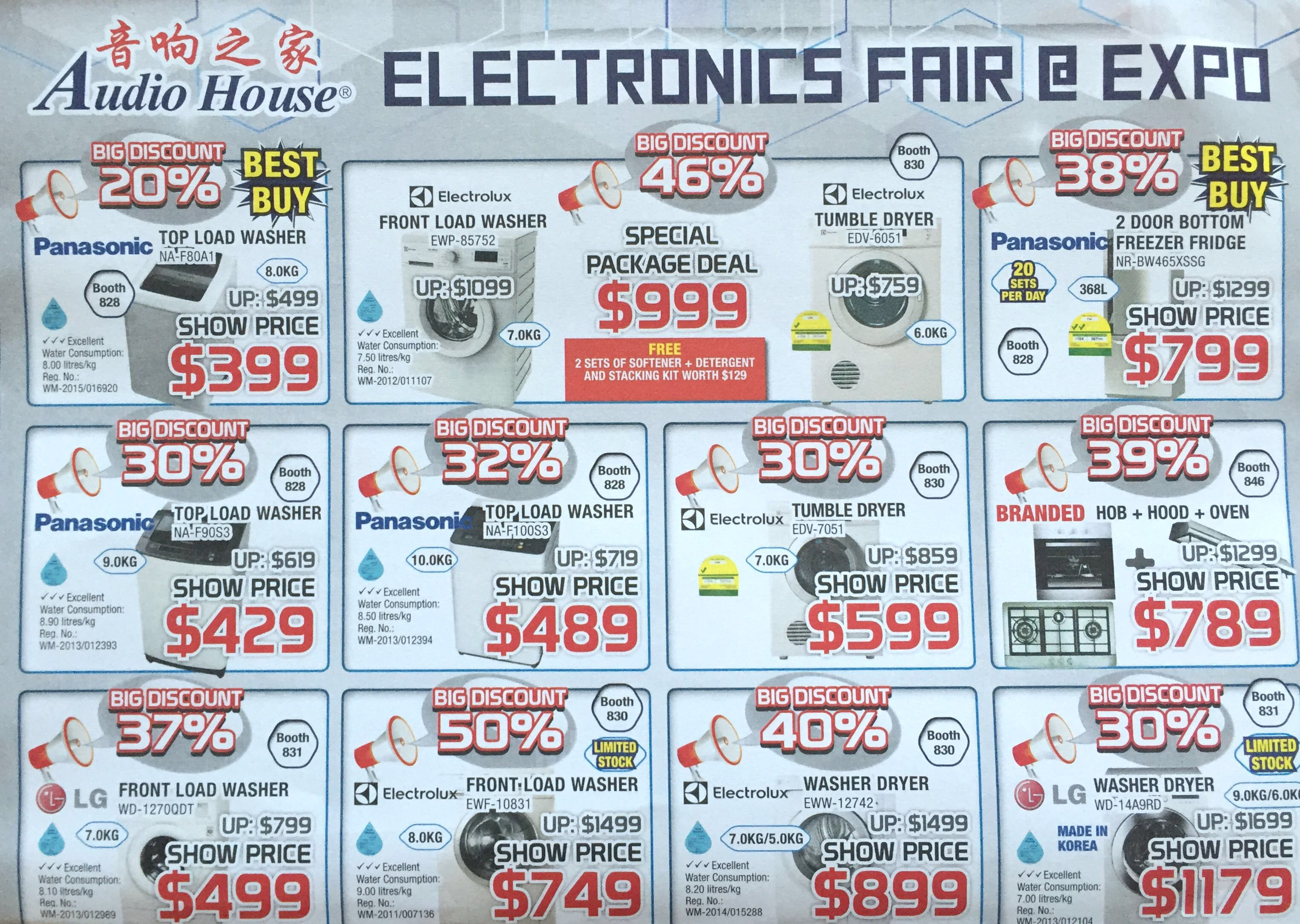 Electronics Fair @ EXPO   8 - 10 January 2016   by Audio House   pg4