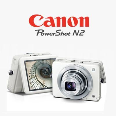 Canon PowerShot N2 Digital Camera / 16.1mp / 8x / 2.8 tilt cmos S$311 (UP S$499)