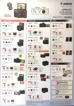 Canon Camera Deals @ COMEX 2017 | pg1