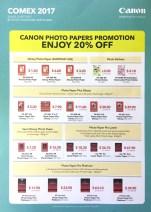 Canon Printer Deals @ COMEX 2017 | pg4