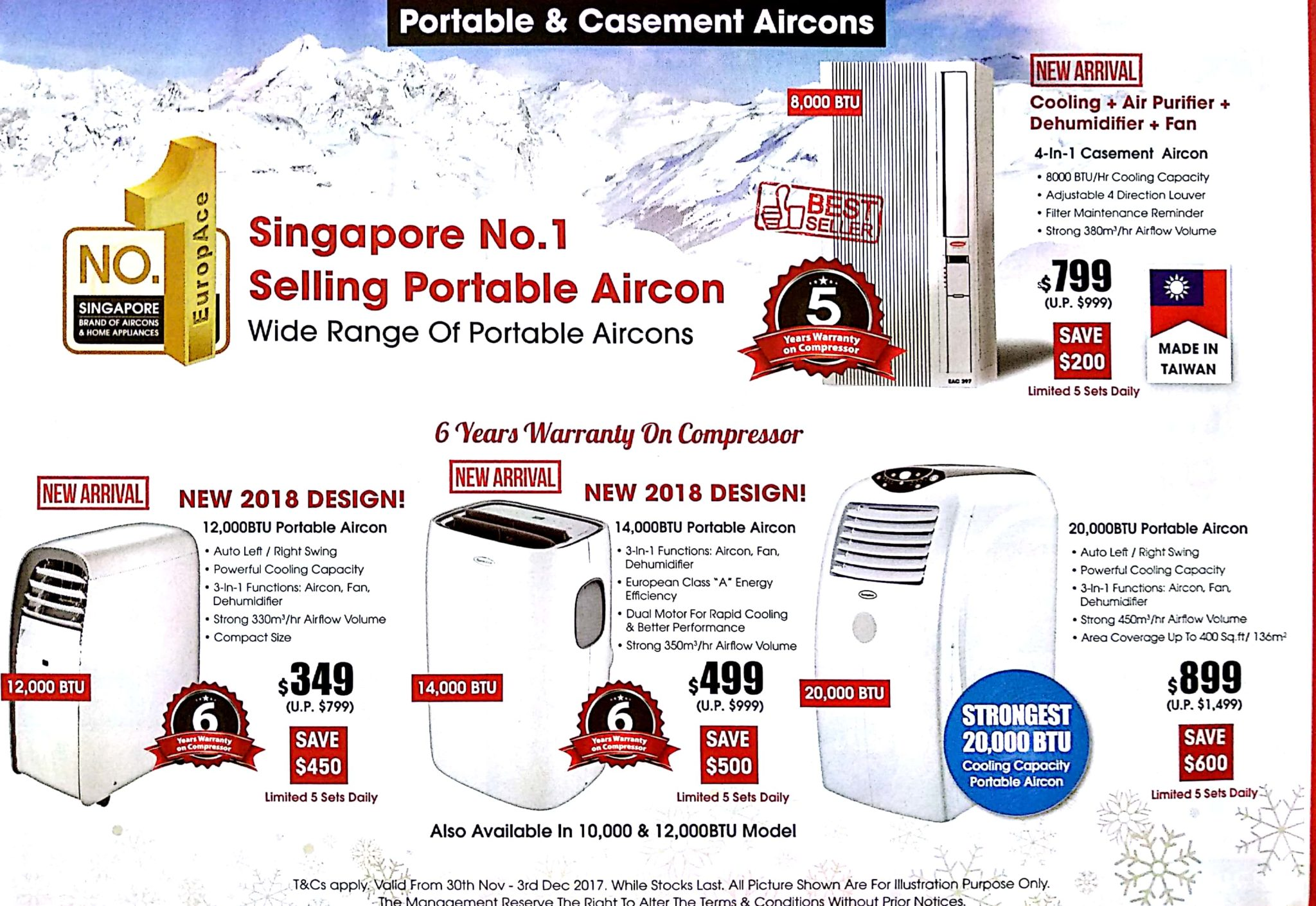 EuropAce Warehouse Sale | 30 Nov - 3 Dec 2017 | Brochure pg7