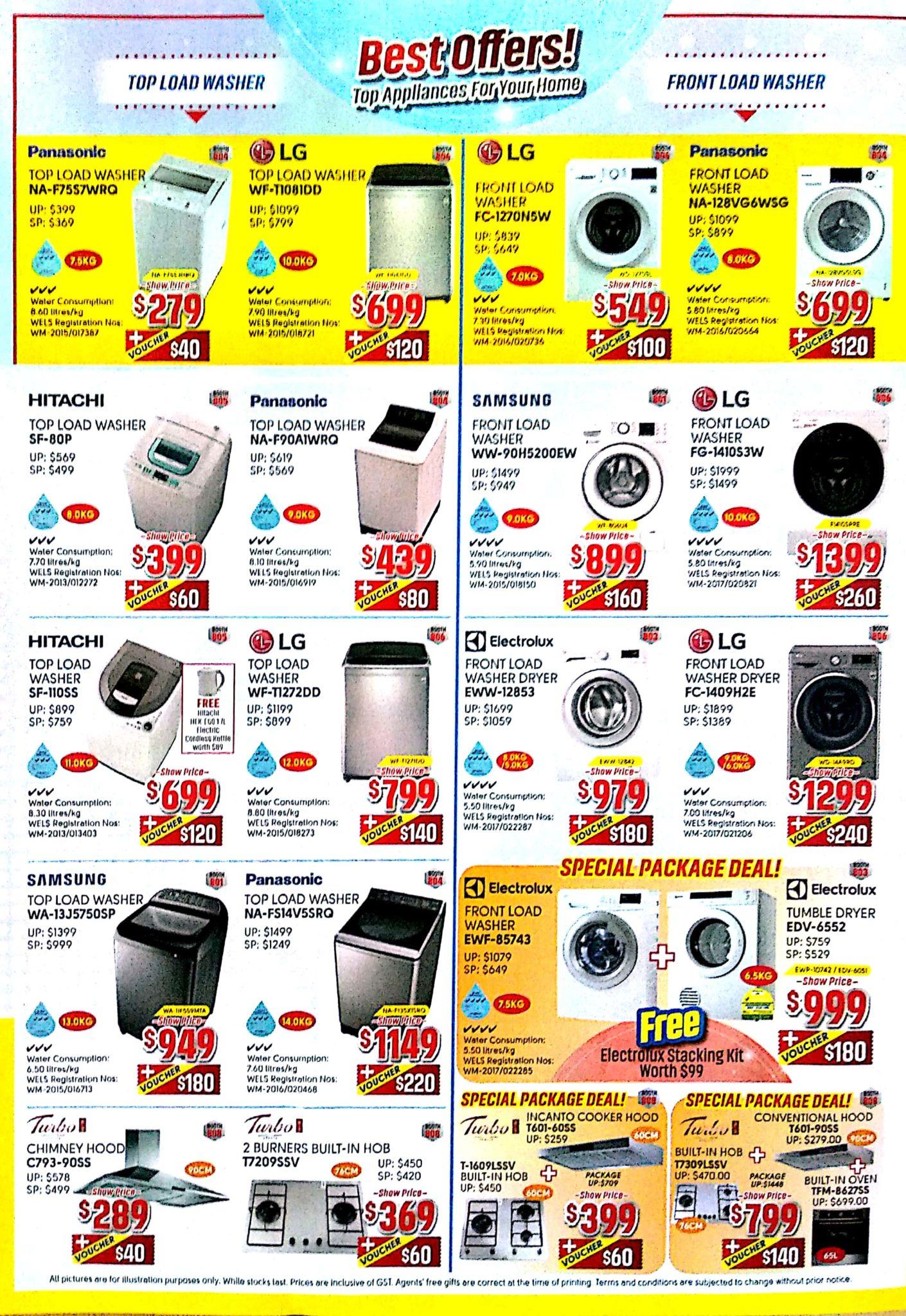 Great Electronics EXPO 2017 | 8 - 10 Dec 2017 | 11am - 9pm | Singapore EXPO | Brochure pg2
