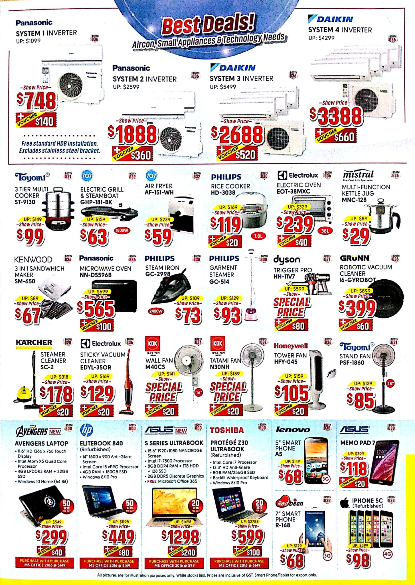 Great Electronics EXPO 2017 | 8 - 10 Dec 2017 | 11am - 9pm | Singapore EXPO | Brochure pg6