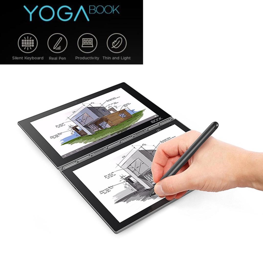 Lenovo Yoga Book FHD 10.1 Android Tablet 3 in 1 Tablet Intel Atom x5-Z8550 Processor 4GB RAM