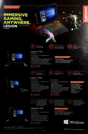 Lenovo Yoga IdeaPad Legion @ PC Show 2017 | PG6
