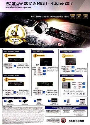 Samsung Memory Card SSD @ PC Show 2017 | PG2