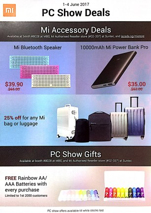 XiaoMi @ PC Show 2017 | PG1