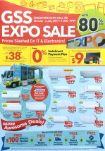 GSS Expo Sale | 30 Jun - 2 Jul 2017 | Singapore Expo | pg1