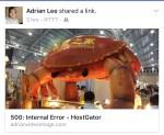 When Facebook link shows the incorrect description