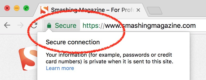 HTTPS Secure Connection