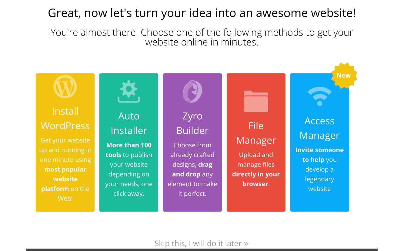 Hostinger Web Hosting Website Installation