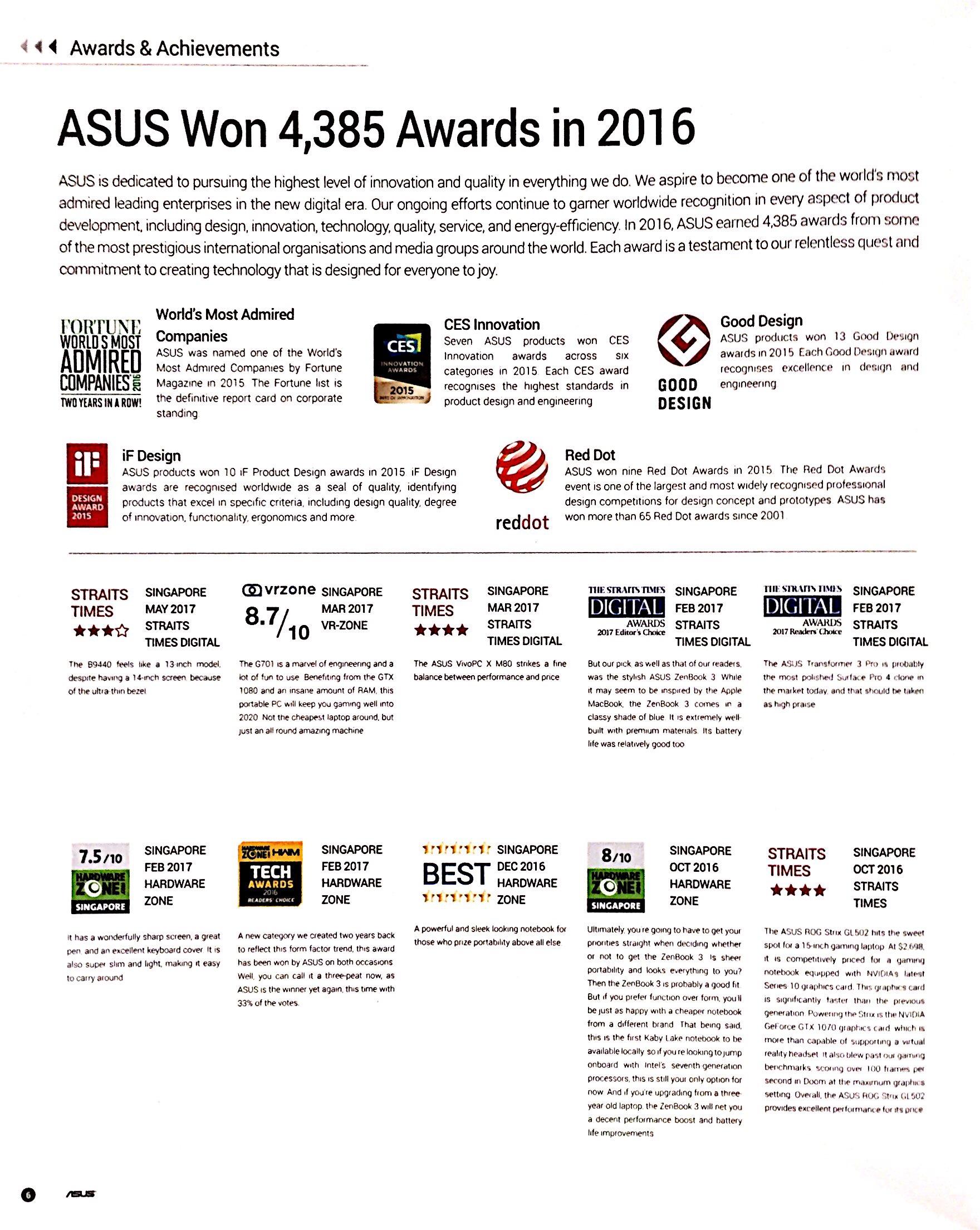 ASUS Deals @ CEF Show 2017 | Brochure pg11