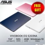 ASUS VivoBook E12 E203NA : lightweight 11.6-inch Windows 10 laptop