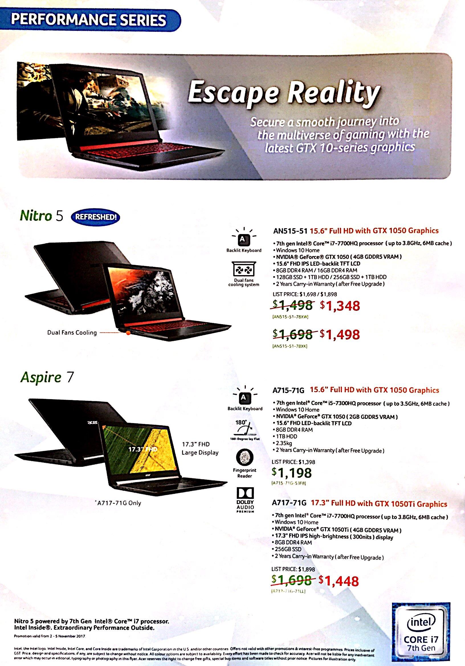 Acer Deals @ CEF Show 2017 | Brochure pg5
