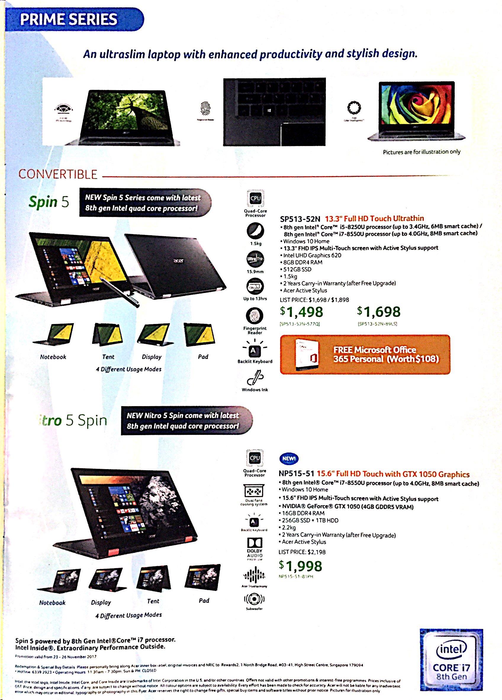 Acer Deals @ SITEX 2017 | Brochure pg3