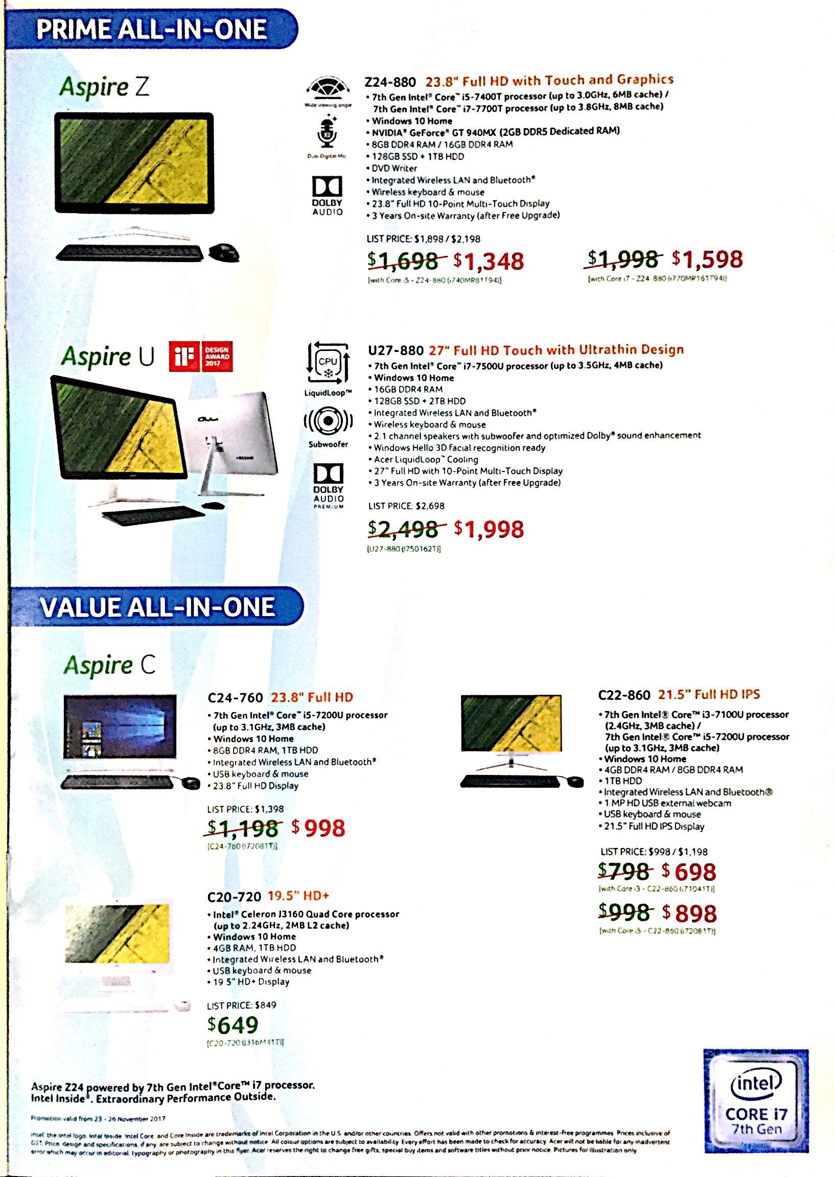 Acer Deals @ SITEX 2017   Brochure pg7