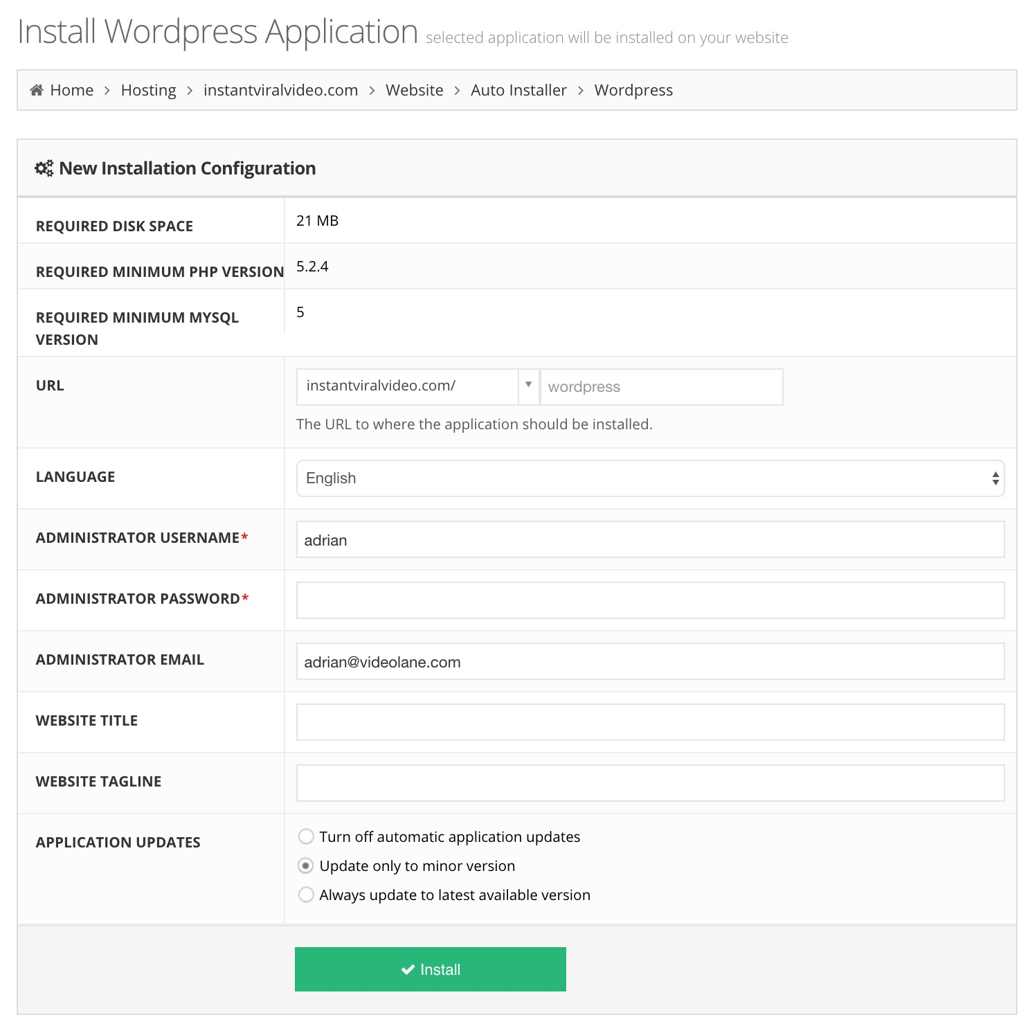 Best Cheap Web Hosting Singapore   Hostinger WordPress Auto Install