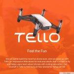 DJI TELLO COMPACT DRONE | FEEL THE FUN