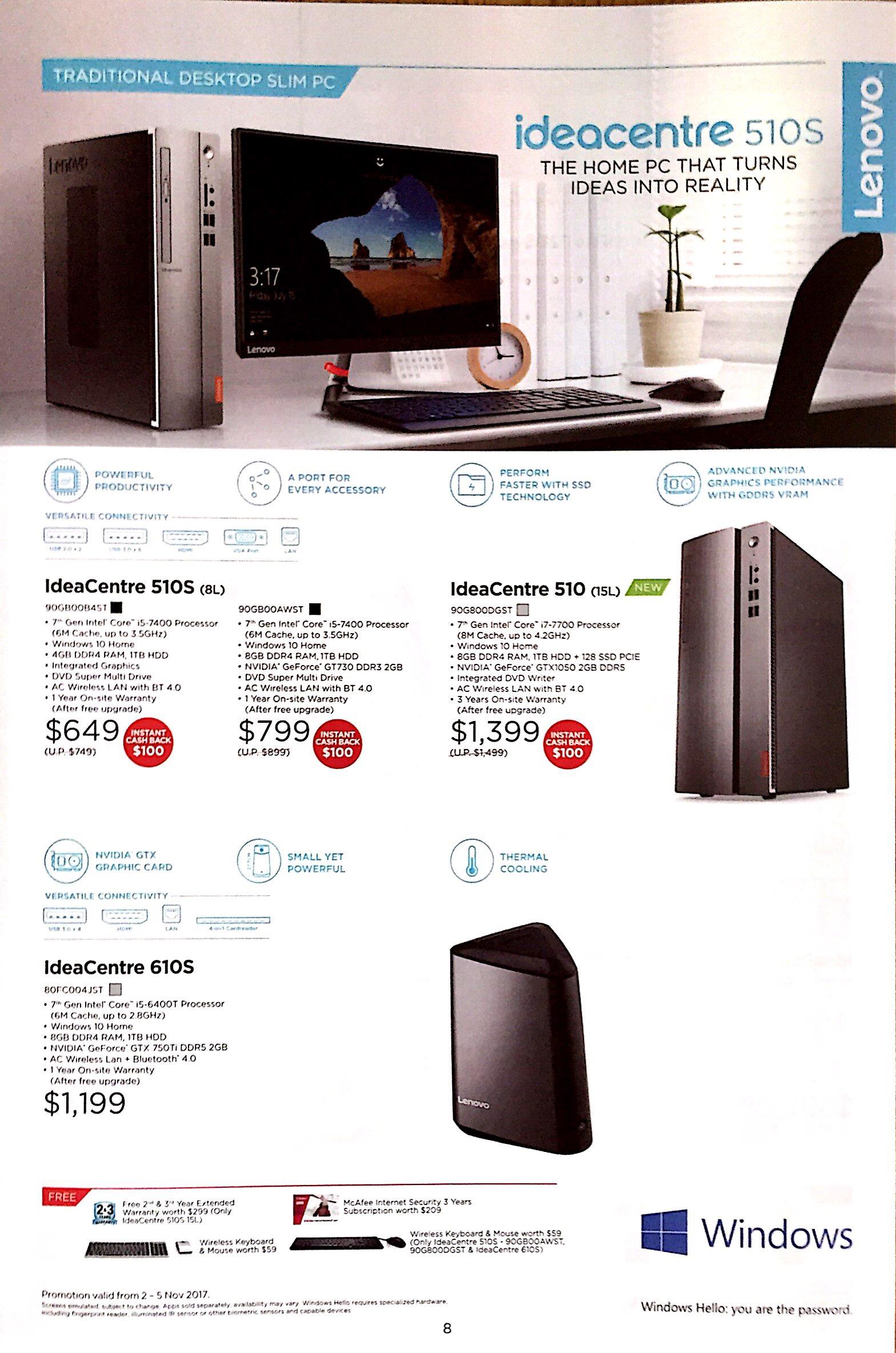 Lenovo Deals @ CEF Show 2017   Brochure pg7