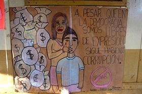 Misiones: polémica en una escuela por un supuesto dibujo de Cristina con bolsas de dinero –