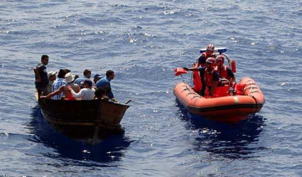 En una semana Estados Unidos ha repatriado 161 balseros cubanos