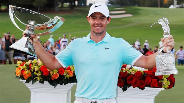 Bolsa de millones: en un solo torneo, Rory McIlroy ganó US$ 11.530.000
