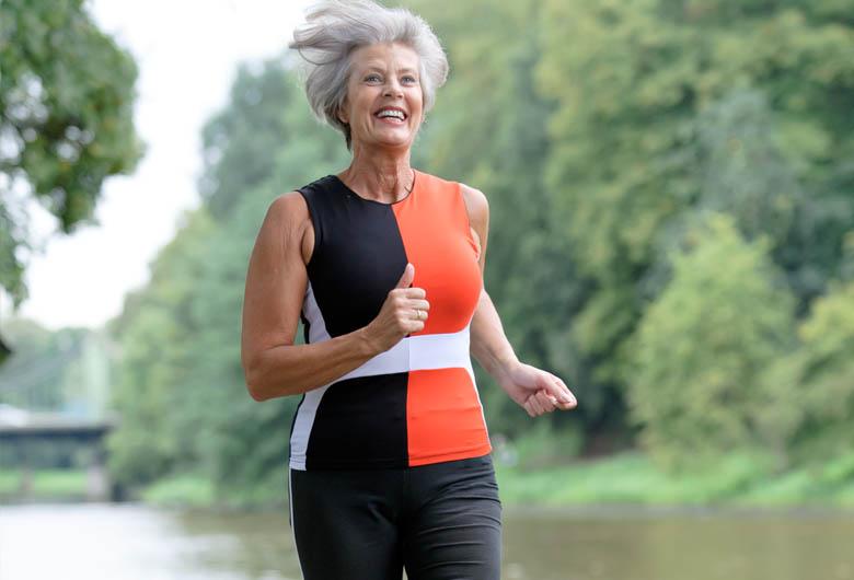 El habito de correr a los 65 años