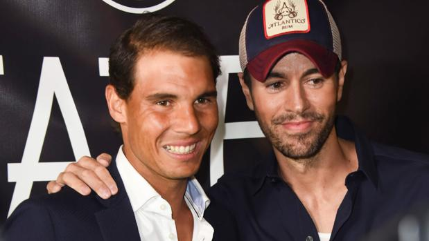 Enrique Iglesias y Rafa Nadal inauguran su restaurante en Miami