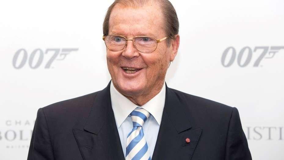 Murió Roger Moore, una de las caras de James Bond más famosas