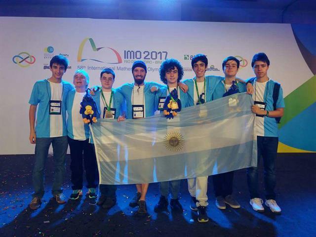 La Argentina ganó la medalla de oro en la Olimpiada Internacional de Matemática