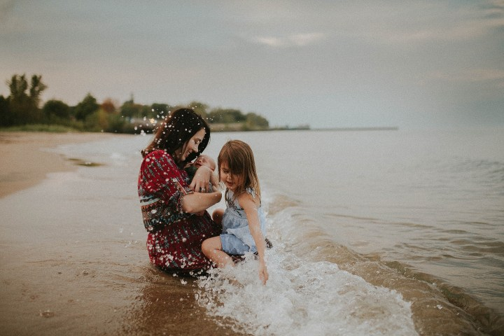Lucky weather with the Rochleau Family Evanston IL | Adri De La Cruz – Chicago and West suburbs family photographer